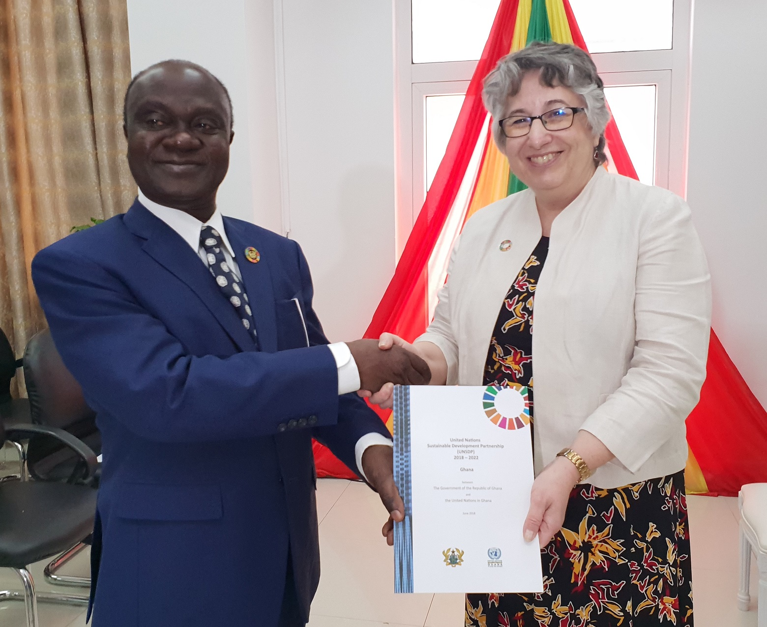 UN in Ghana and the Government launch the UN Sustainable Development Partnership