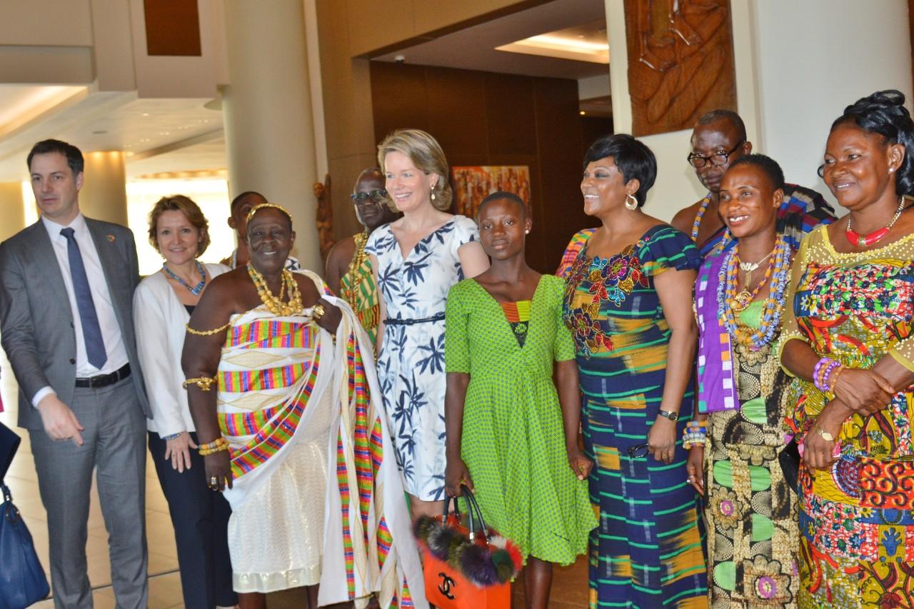 SDG Advocate Queen Mathilde of Belgium commends Ghana on SDG leadership