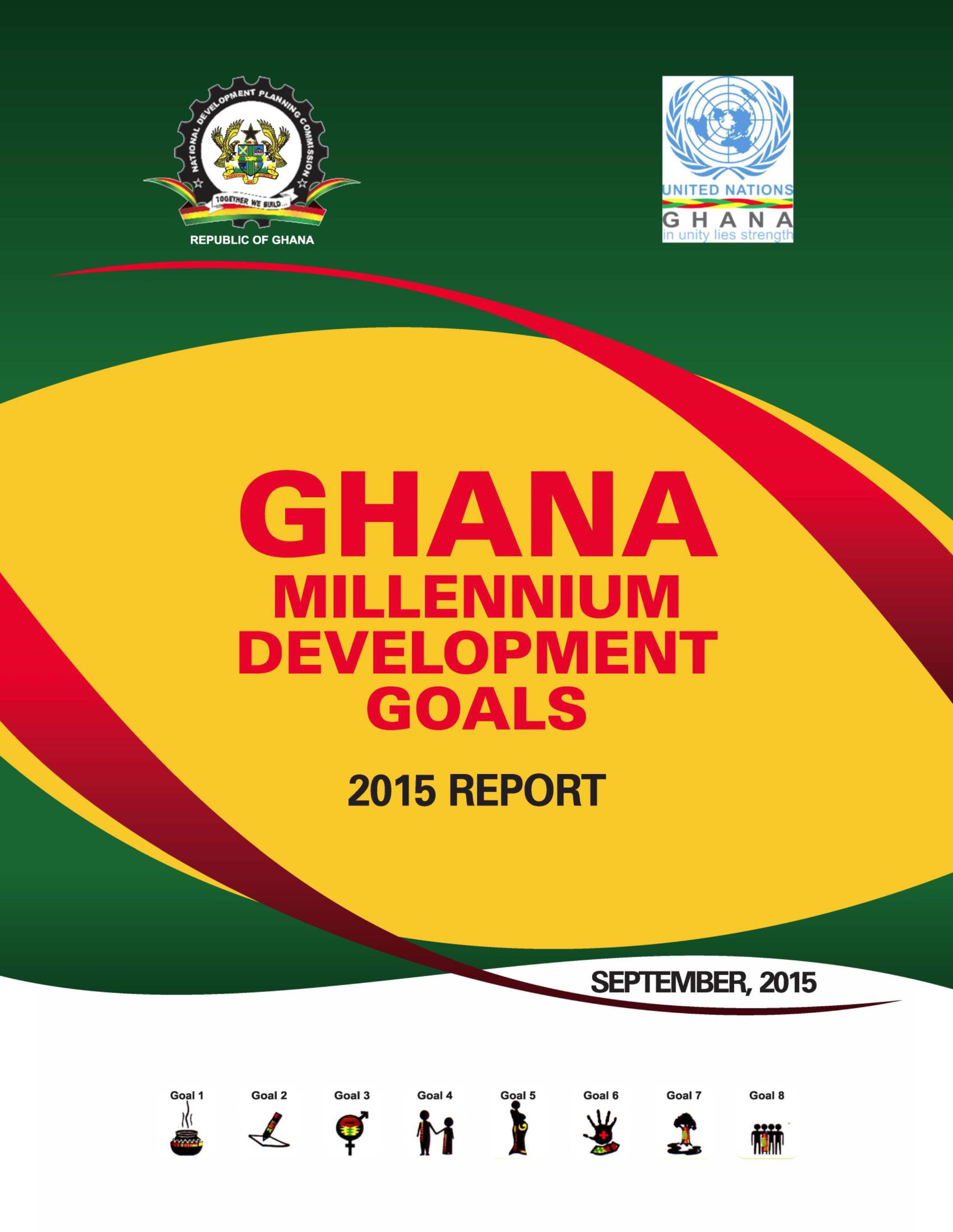 Ghana MDGs report 2015