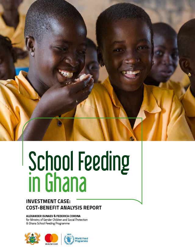School Feeding in Ghana: Investment Case: Cost-Benefit Analysis Report