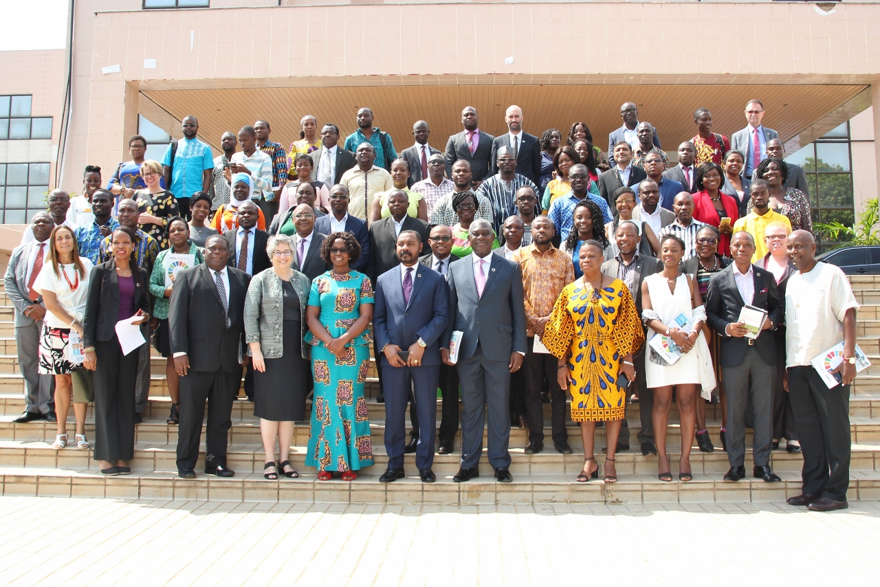 Group photo of participants at the conference