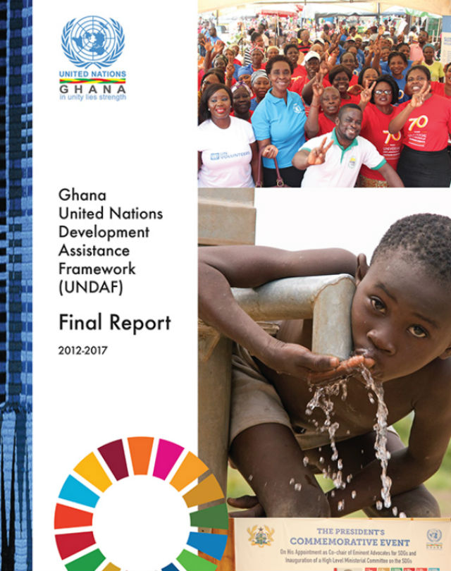 UNDAF 2012-2017 report cover page