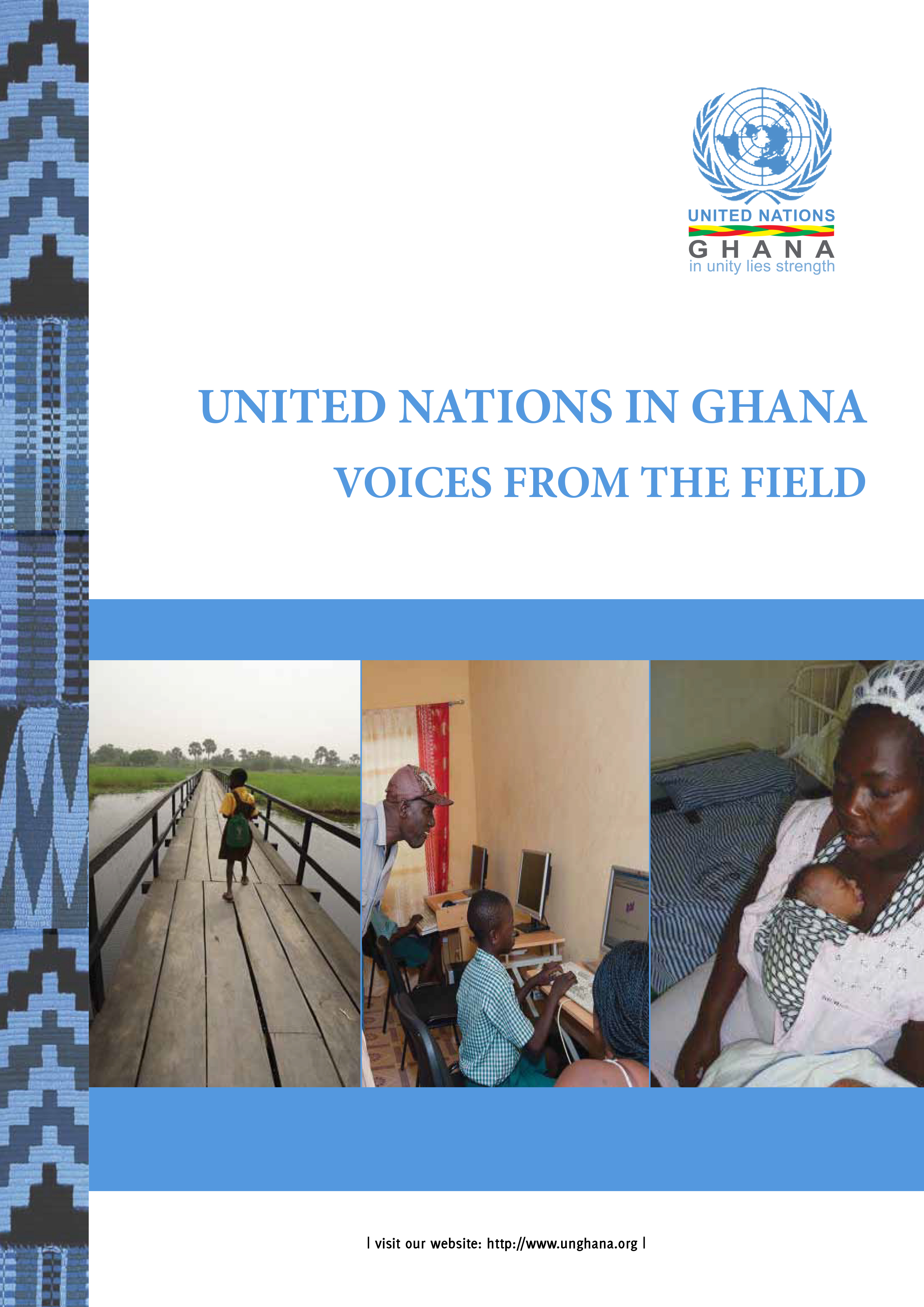 Cover page of Voices from the Field.