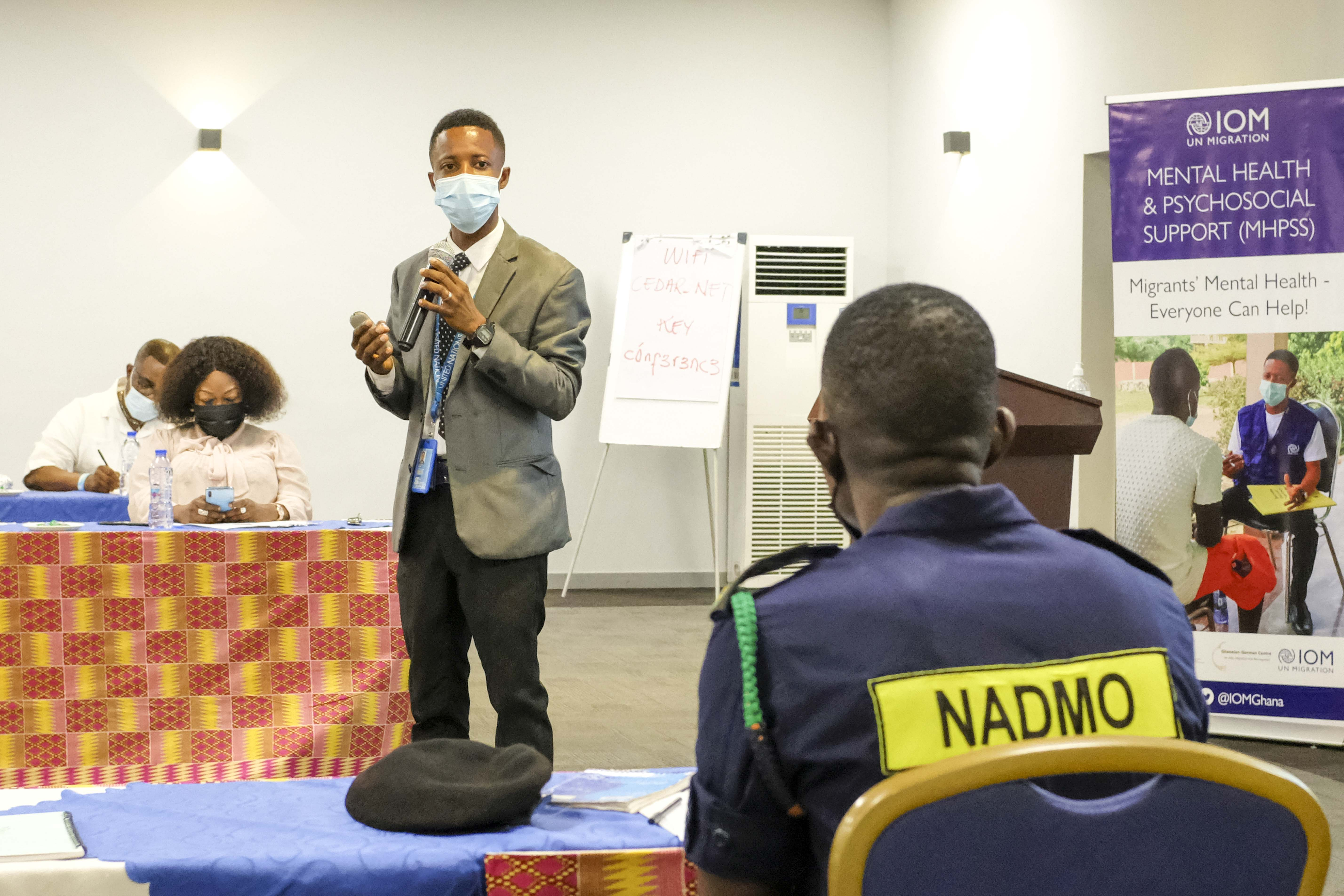IOM and WHO train NADMO staff on psychosocial support to migrants, returnees and disaster victims