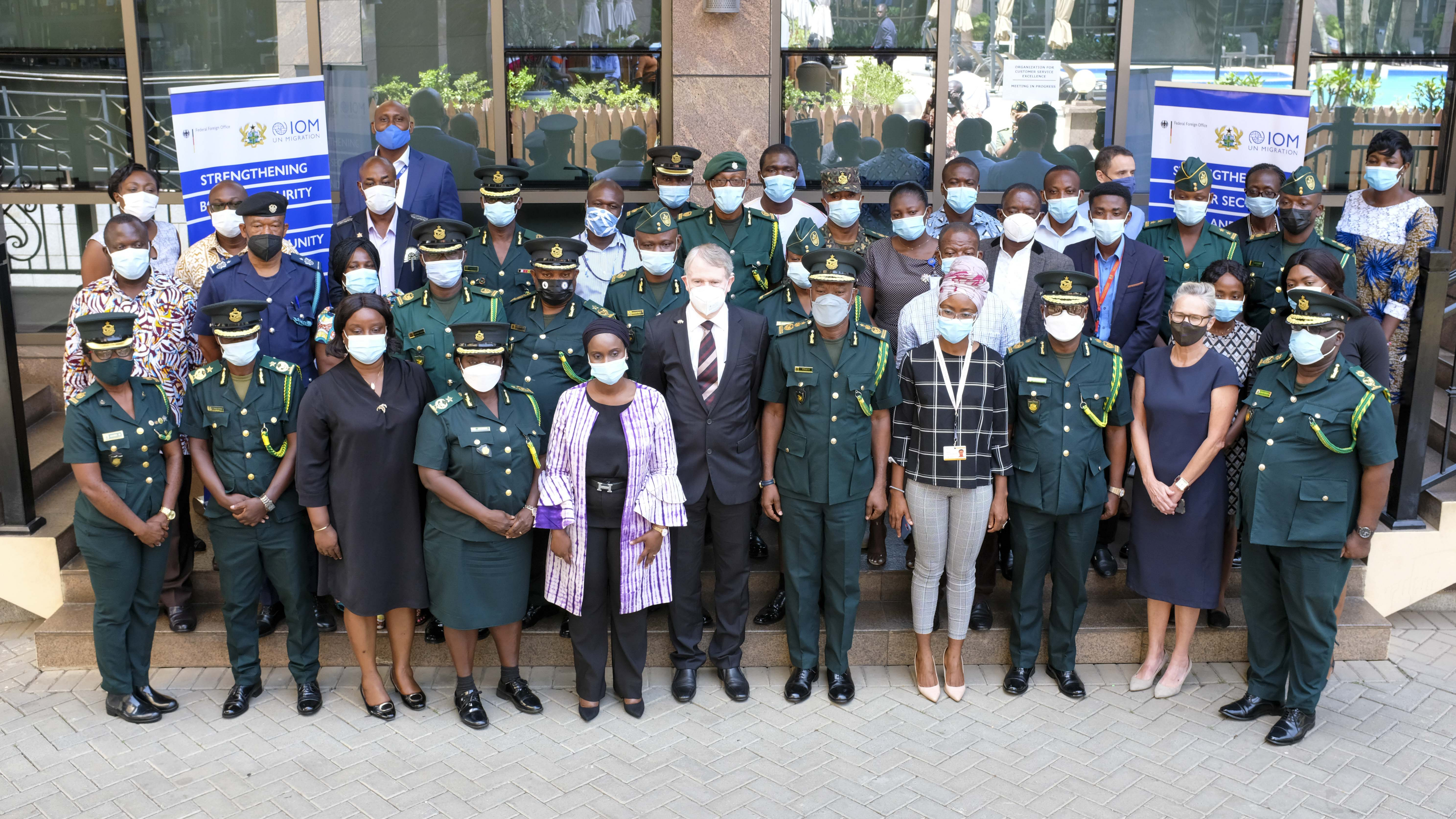 IOM and Ghana Immigration Service launch project to strengthen border security