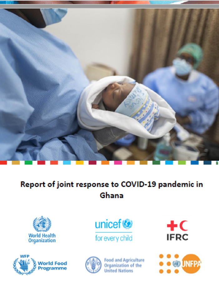 Report of joint response to COVID-19 pandemic in Ghana