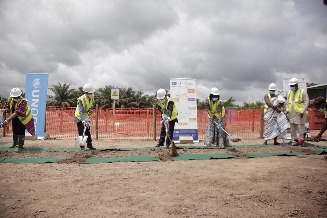 Groundbreaking marks beginning of the Construction of Rice Value Chain Improvement project in Assin Akropong