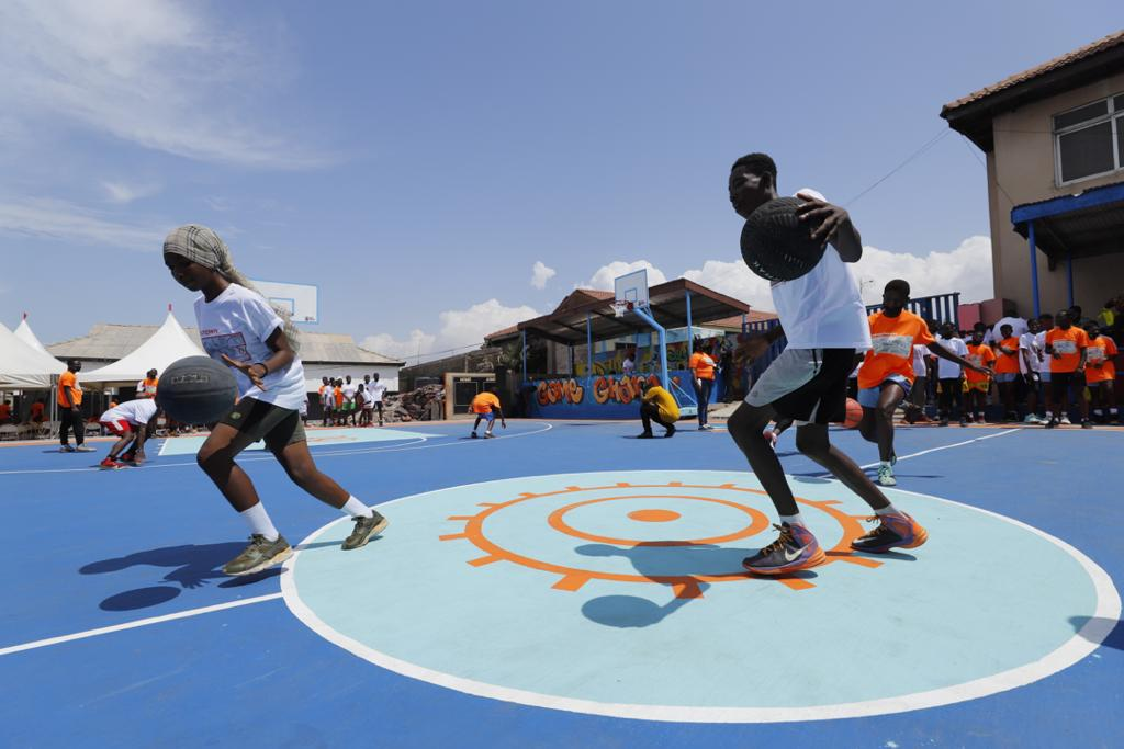 IOM and partners leverage the power of sports to empower Ghanaian youth to be resilient