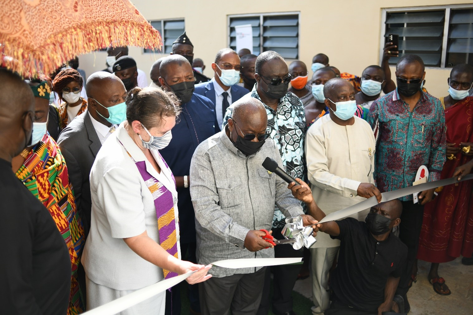 President commissions Premium Foods Ltd, a WFP-assisted factory