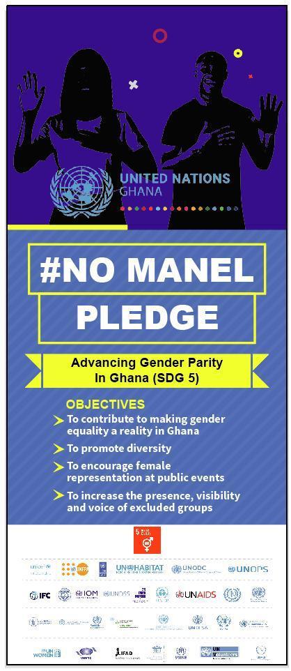 United Nations in Ghana Begins 'No Manel' Campaign