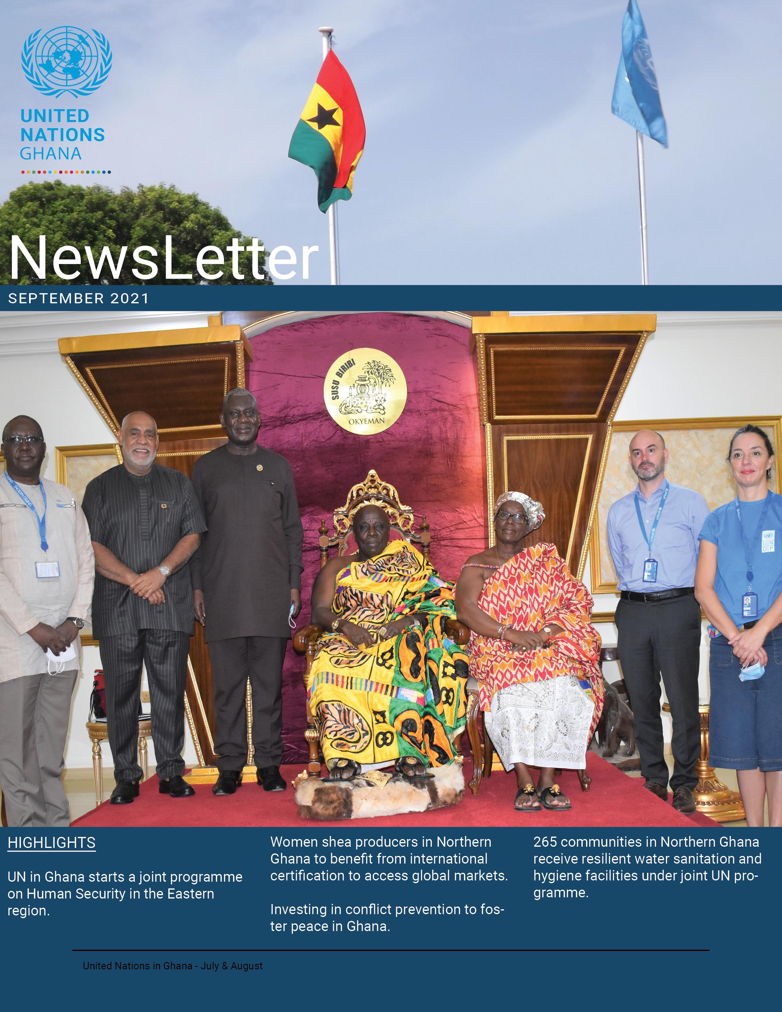 UN Ghana Newsletter September 2021