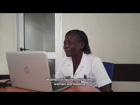 COVID 19 in Ghana: UN Chief speaks with health worker on the pandemic's frontlines