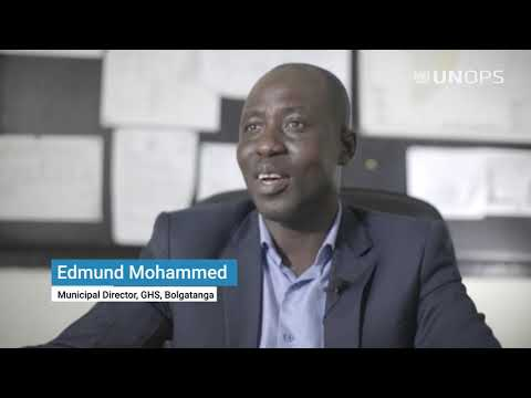 Shining the Light on UNOPS in Ghana at UN75