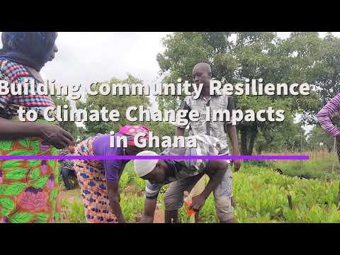 Thanks to support from the Adaptation Fund, the UN in Ghana, through UNDP, is helping communities in Northern Ghana to adapt to climate change and sustain their livelihoods.