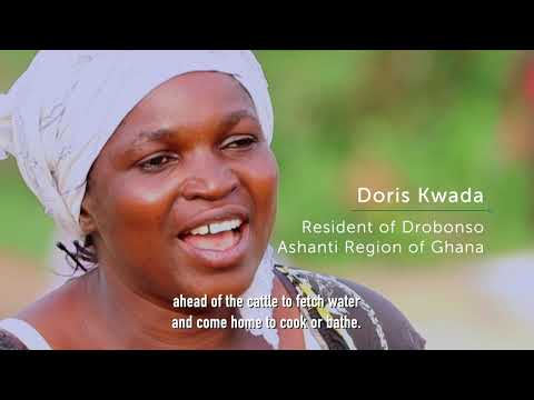 Through the 'Boosting Green Employment and Enterprise Opportunities in Ghana' (GrEEn) project, funded by the European Union Emergency Trust Fund (EUTF) for Africa, the people of Drobonso Community in Ghana now have improved levels of hygiene.