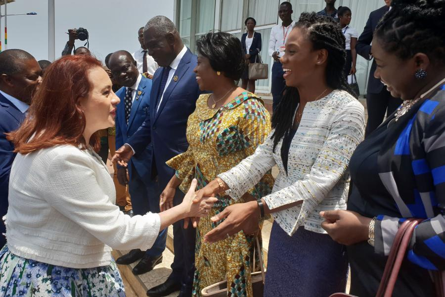 RC ai welcomes President of the Seventy-third Session of the United Nations General Assembly H. E. María Fernanda Espinosa Garcés
