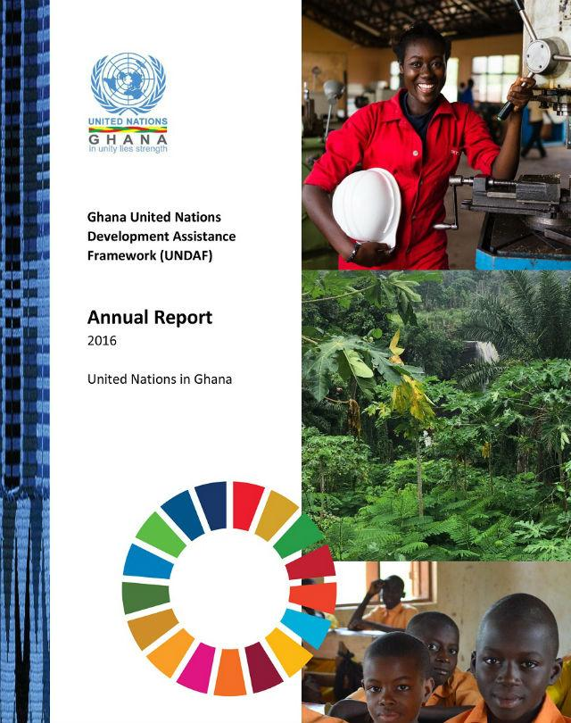 UNDAF Annual Report 2016 cover page